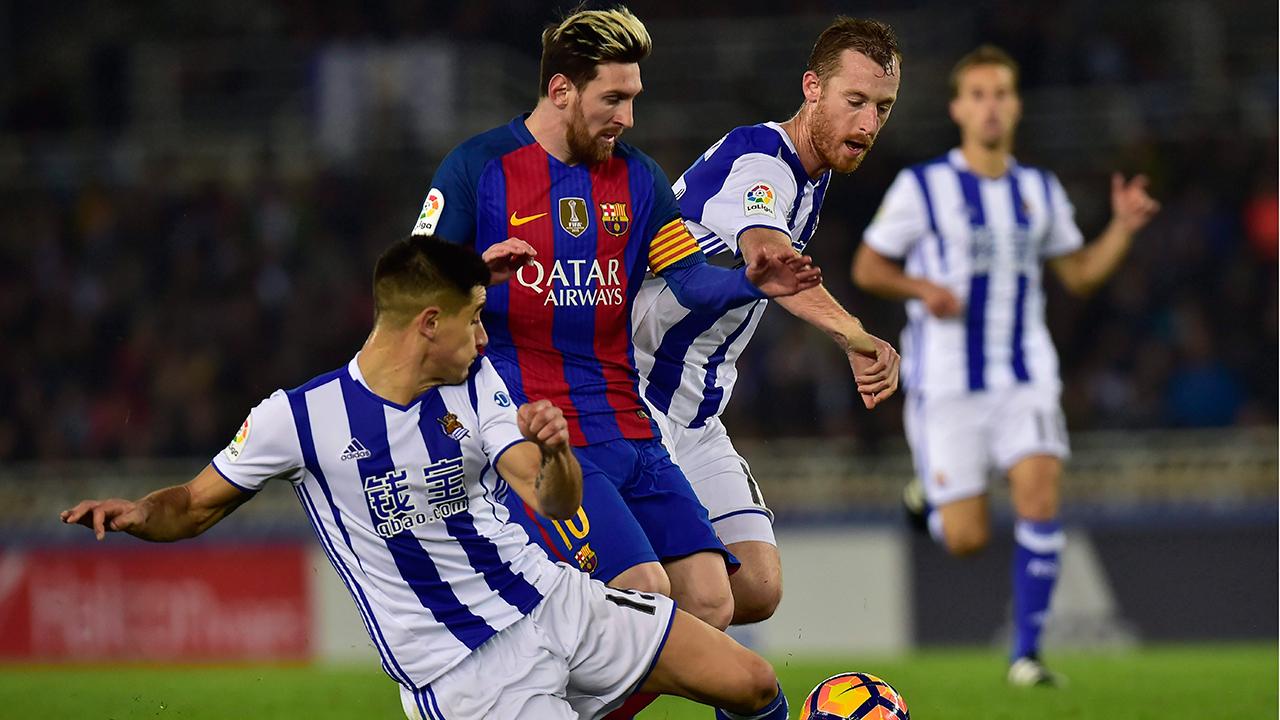 Image result for Prediksi Real Sociedad vs Barcelona 15 Januari 2018