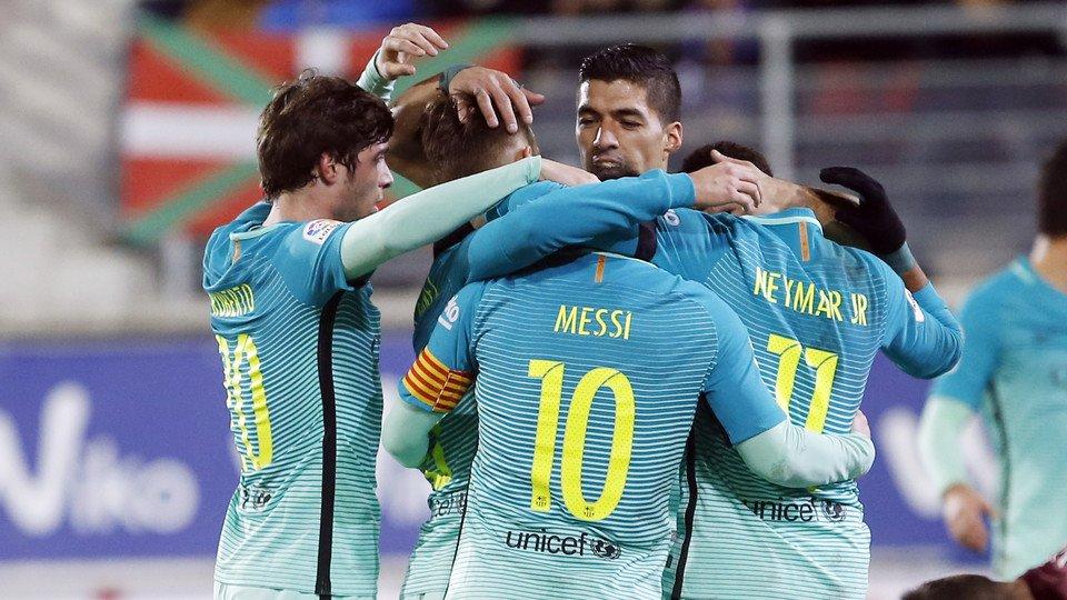 Barcelona Menang Telak 4-0 Di Kandang Eibar