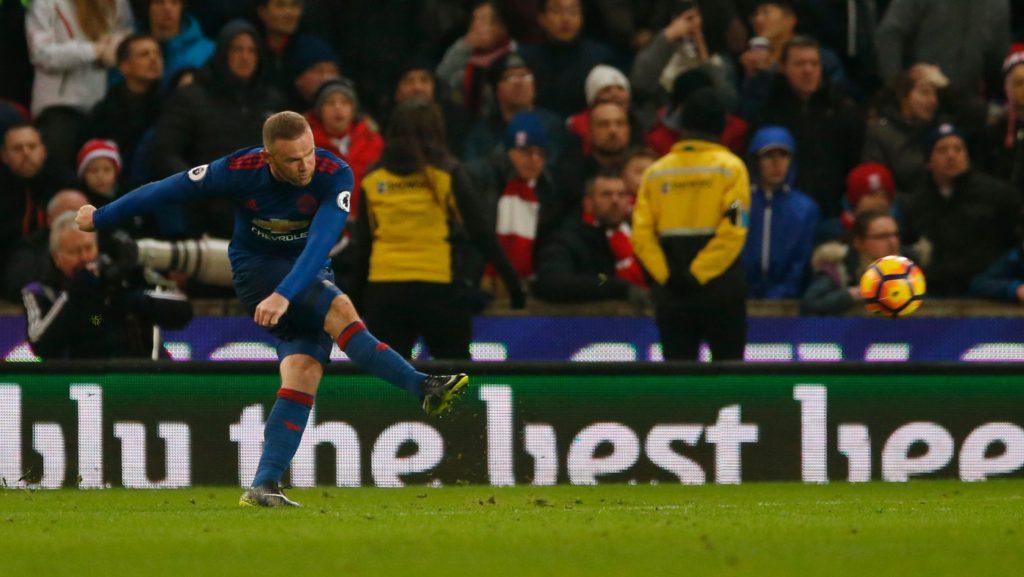 Wayne Rooney baru saja menjadi top skorer sepanjang masa untuk