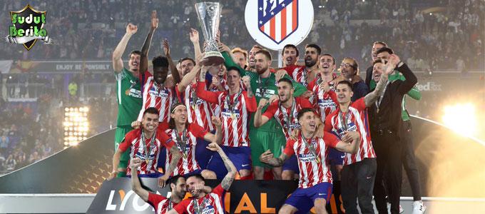 Antoine Griezmann Bawa Atletico Madrid Angkat Piala Liga Eropa