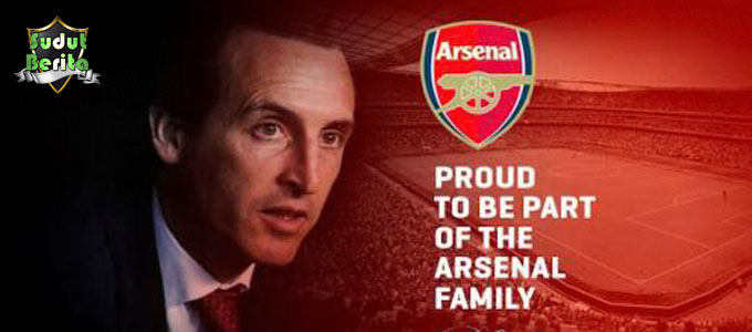 Unai Emery Resmi Mengumumkan Jadi Pelatih Baru Arsenal